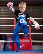 Six-year-old earns kickboxing black belt